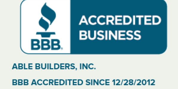 A+ Rated BBB Able Builders, Inc in Clearwater Water Damage Restoration